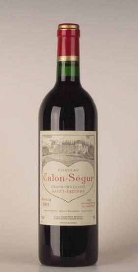 Château Calon Ségur 1995 AOC Saint Estephe - Bild-0