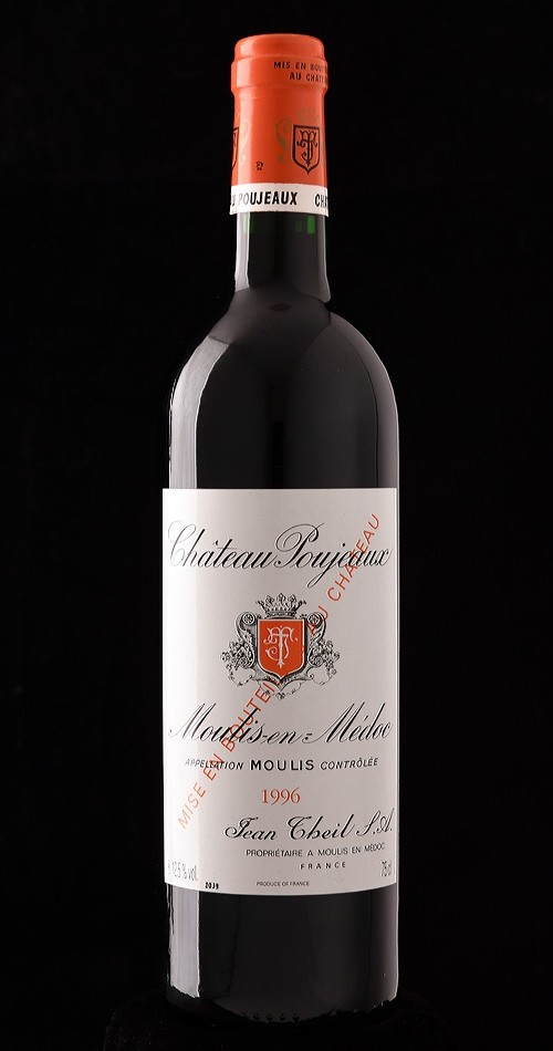Château Poujeaux 1996 AOC Moulis - Bild-0