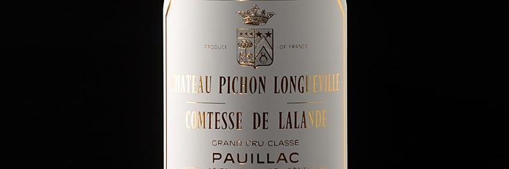 Bordeaux Wein Chateau Pichon Comtesse