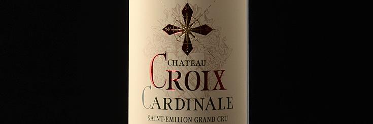 Bordeaux Wein Chateau Croix Cardinale