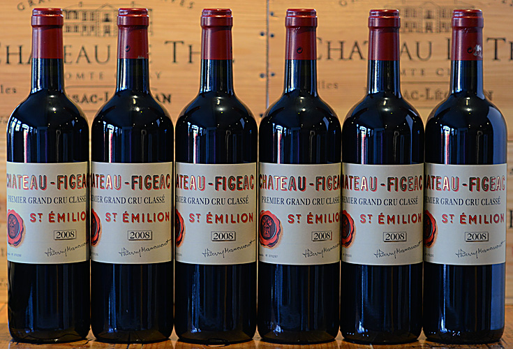 Chateau Figeac 2008 bei AUX FINS GOURMETS