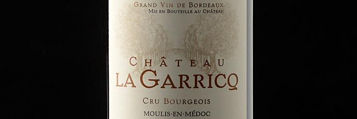 Bordeaux Wein Chateau La Garricq