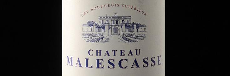 Chateau Malescasse - AUX FINS GOURMETS