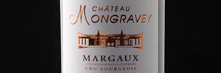 Bordeaux Wein Chateau Mongravey