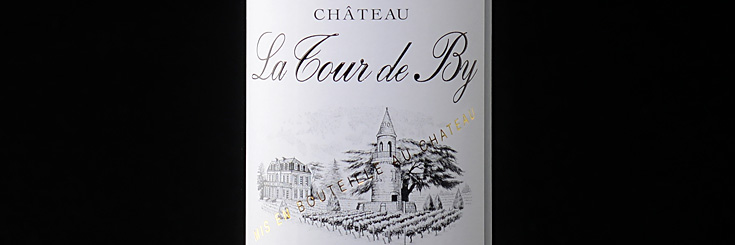 Bordeaux Wein Chateau La Tour de By